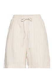 Shorts Gillian linen - WHITE