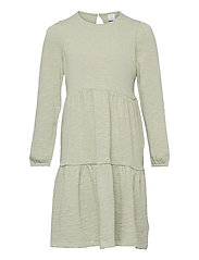 Dress tricot solid - GREEN