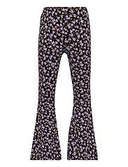Trousers Carmen flares - BLACK