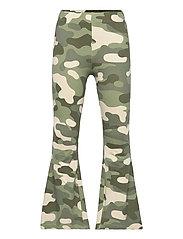 Trousers Carmen flares - GREEN