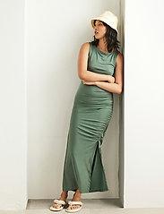 Lindex - Dress Debbie - kveldskjoler - green - 5