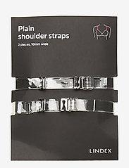Lindex - 10mm Plain plexi straps - accessoarer - transparent - 0