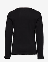 Lindex - Top rib - langermede t-skjorter - black - 2