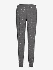 Lindex - Night Trousers Tea AOP - nederdelar - dark grey melange - 1