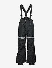 Lindex - FIX Black ski trousers with braces - schneehose - black - 0