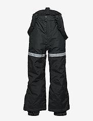 Lindex - FIX Black ski trousers with braces - schneehose - black - 2