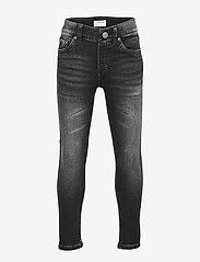 Lindex - Denim jersey Sam - jeans - black - 0