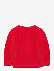Lindex - Cardigan moss knit - gilets - red - 1