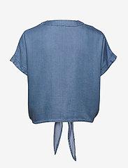 Lindex - Blouse Julia denim - bluzki z krótkim rękawem - denim blue - 1