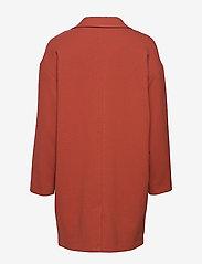 Lindex - Coat Lina - lichte jassen - dark dusty red - 1