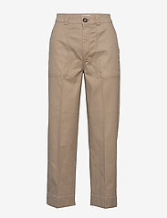 Lindex - Trousers Lisen - chinos - beige - 0