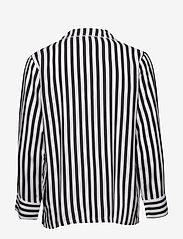 Lindex - Night Shirt Woven Stripe Elsa - Överdelar - offblack - 1