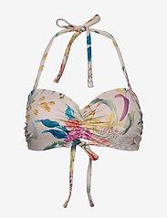 Lindex - Bra Paula Pisa Bandeau - bikini tops - light dusty pink - 0