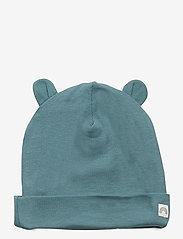Lindex - Cap w ears - hatte og handsker - dusty turquoise - 0