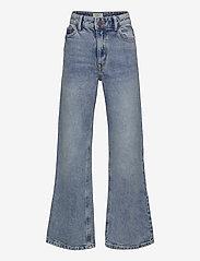 Lindex - Trousers denim Vanja washed bl - jeans - blue - 0