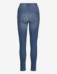 Lindex - Denim trousers Vera mid blue - slim jeans - denim - 1