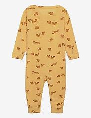 Lindex - baby onesies print - langärmelig - yellow - 1