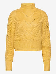Lindex - Sweater Sissela - turtlenecks - yellow - 0
