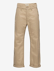 Lindex - Trousers chinos skatefit - trousers - beige - 0