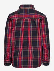 Lindex - Shirt check party checks - overhemden - dark navy - 1