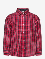Lindex - Shirt Christmas - overhemden - dark red - 0