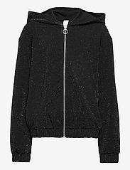 Lindex - Sweatshirt Hoodie Glamour - gilets - black - 0