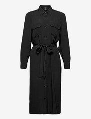 Lindex - Dress Daisy - midi jurken - black - 0
