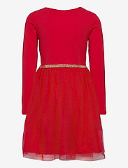 Lindex - Dress l s with tulle skirt - kleider - red - 1