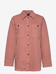 Lindex - Jacket Frida - jeansjacken - pink - 0
