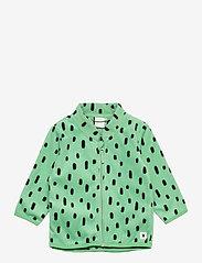 Lindex - Jacket fleece - fleecetøj - green - 0
