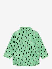 Lindex - Jacket fleece - fleecetøj - green - 1