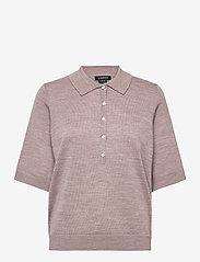 Poloshirt Ru - BEIGE