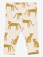 Lindex - Leggings Leo animal aop - leggings - beige - 1
