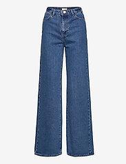 Lindex - Trouser denim Jackie retro blu - brede jeans - blue - 0