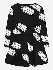 Lindex - Dress little artist AOP - kleider - black - 1