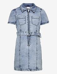 Lindex - Dress denim Linda - kleider - blue - 0