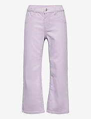 Lindex - Trousers twill Annie - trousers - lilac - 0