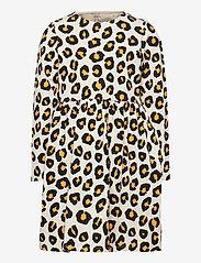 Lindex - Dress Leo aop - kleider - beige - 0