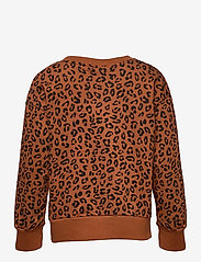 Lindex - Sweater Leo AOP street online - sweatshirts - brown - 1