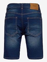 Lindex - Shorts denim Jerry jersey regu - shorts - blue - 1