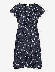 Lindex - Dress smock chest - kleider - blue - 0
