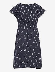 Lindex - Dress smock chest - kleider - blue - 1