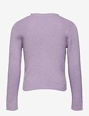 Lindex - Cardigan Vneck - gilets - lilac - 1
