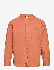 Shirt Linen - BROWN
