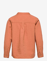 Lindex - Shirt Linen - shirts - brown - 1