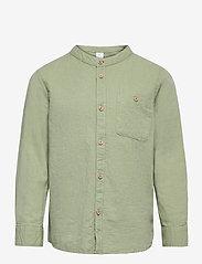Shirt Linen - GREEN