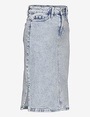 Lindex - Skirt denim Riley - röcke - blue - 2