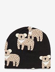 Lindex - Cap tricot Leo Koala - beanie - black - 1