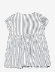 Lindex - Dress seersucker - kleider - blue - 1
