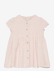 Lindex - Dress seersucker - kleider - pink - 0
